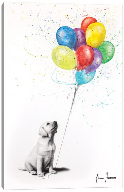 Proud Puppy Canvas Art Print