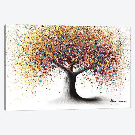 Rainbow Soul Tree Canvas Print #VIN714} by Ashvin Harrison Canvas Art