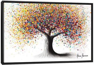 Rainbow Soul Tree Canvas Art Print