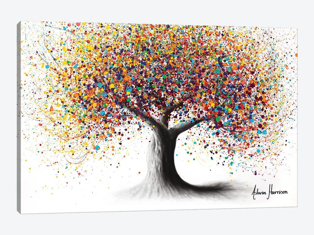 Rainbow Soul Tree by Ashvin Harrison 1-piece Canvas Artwork