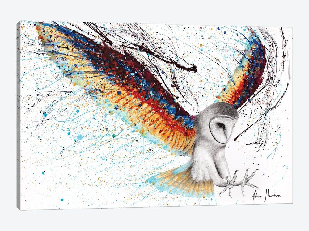 Guardian Owl by Ashvin Harrison 1-piece Art Print