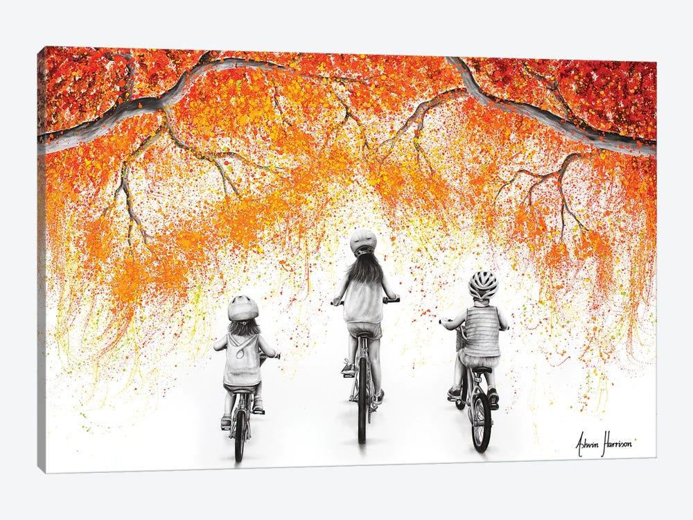 The Autumn Ride by Ashvin Harrison 1-piece Canvas Artwork