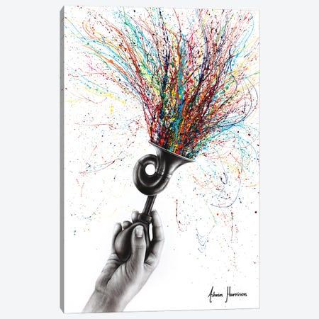 Celebration Sound Canvas Print #VIN717} by Ashvin Harrison Canvas Wall Art