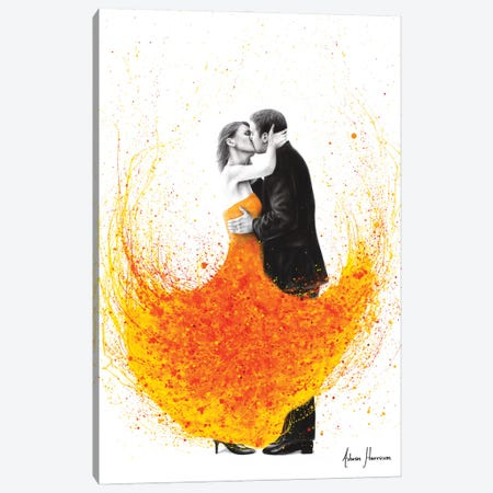 Sunny Autumn Kiss Canvas Print #VIN725} by Ashvin Harrison Canvas Art Print