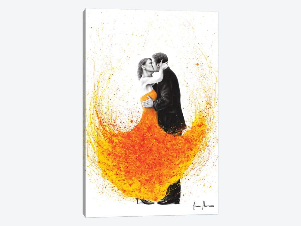 Sunny Autumn Kiss by Ashvin Harrison 1-piece Canvas Artwork