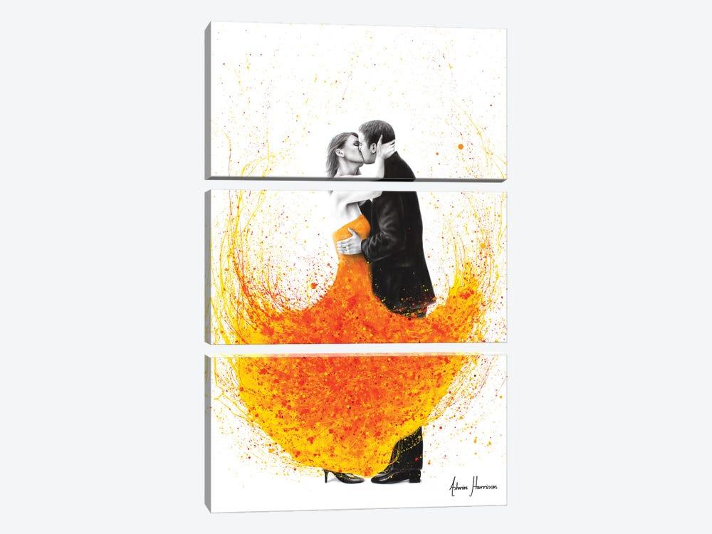 Sunny Autumn Kiss by Ashvin Harrison 3-piece Canvas Art
