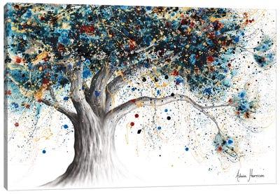 The Midnight Potion Tree Canvas Art Print