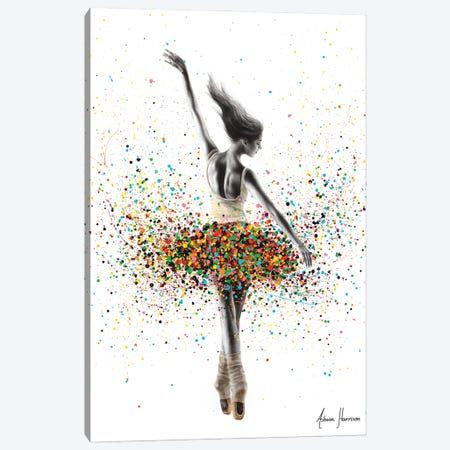 The Dance Dreamer Canvas Print #VIN730} by Ashvin Harrison Canvas Art Print