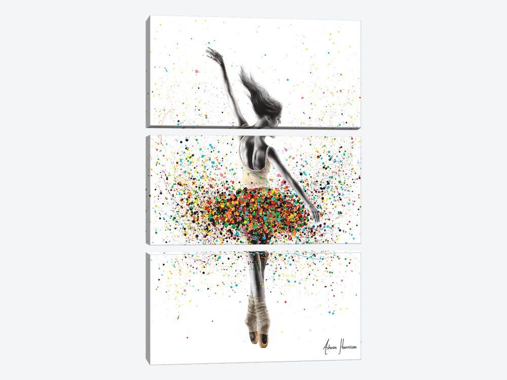 The Dance Dreamer by Ashvin Harrison 3-piece Canvas Wall Art