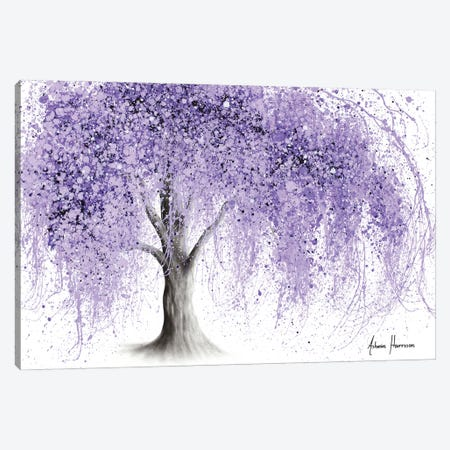 Purple Wishing Willow Canvas Print #VIN731} by Ashvin Harrison Canvas Art Print