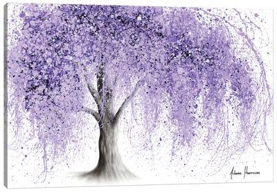 Purple Wishing Willow Canvas Art Print