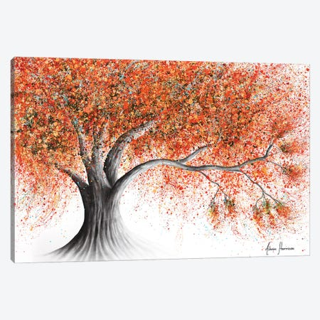Rusty Sunshine Tree Canvas Print #VIN732} by Ashvin Harrison Canvas Art Print