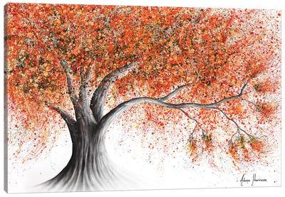 Rusty Sunshine Tree Canvas Art Print