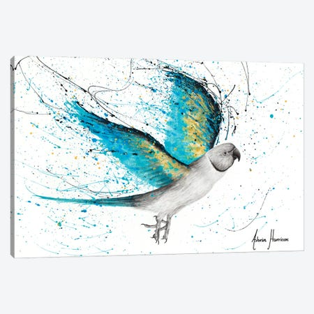 Morning Reverb Bird Canvas Print #VIN733} by Ashvin Harrison Canvas Print