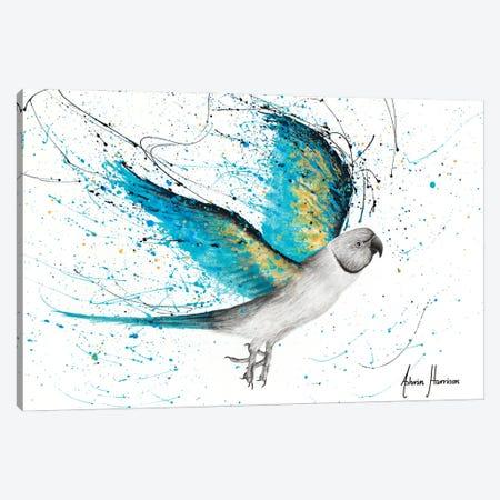 Morning Reverb Bird Canvas Print #VIN733} by Ashvin Harrison Canvas Print