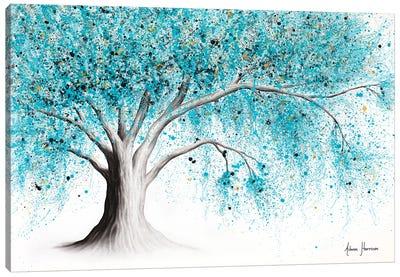 Winter Gemstone Tree Canvas Art Print