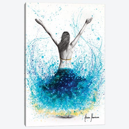 The Ocean Spirit Canvas Print #VIN745} by Ashvin Harrison Art Print