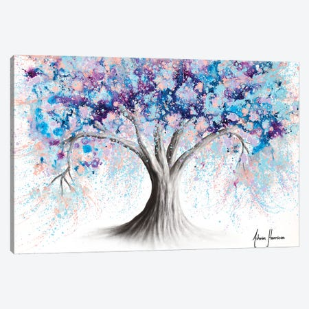 Motivational Soul Tree Canvas Print #VIN747} by Ashvin Harrison Canvas Art Print