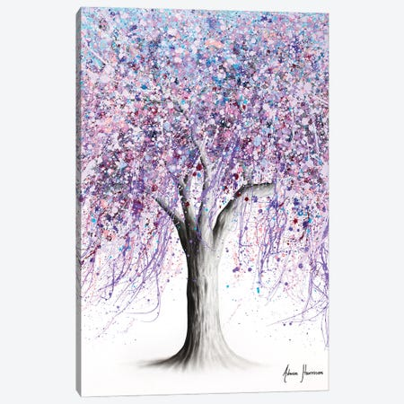 Wisteria Wisdom Tree Canvas Print #VIN754} by Ashvin Harrison Canvas Artwork