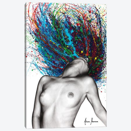 Superfluous Sensation Canvas Print #VIN756} by Ashvin Harrison Canvas Artwork