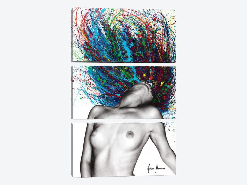 Superfluous Sensation by Ashvin Harrison 3-piece Canvas Art