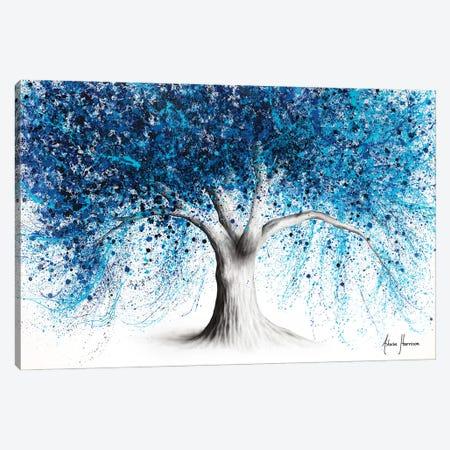 Indigo Inception Tree Canvas Print #VIN758} by Ashvin Harrison Canvas Art Print
