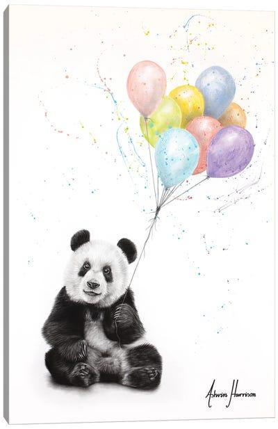 Panda Party Canvas Art Print