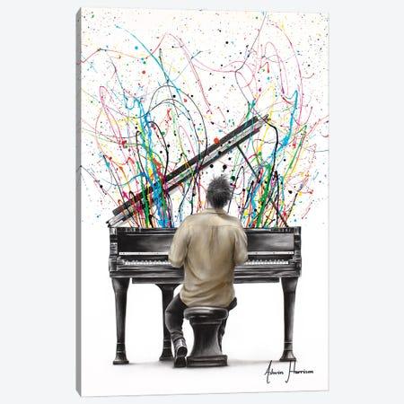 The Piano Solo Canvas Print #VIN767} by Ashvin Harrison Canvas Art Print