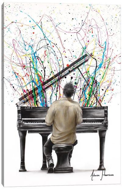 The Piano Solo Canvas Art Print