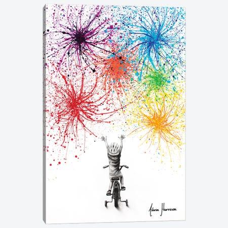 Playful Celebration Canvas Print #VIN774} by Ashvin Harrison Canvas Art
