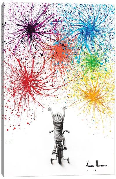 Playful Celebration Canvas Art Print