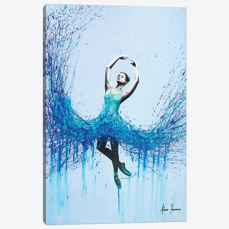 Ocean Dance Canvas Print #VIN77} by Ashvin Harrison Art Print