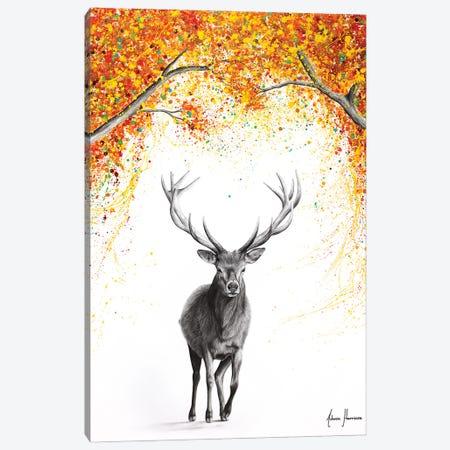 The Deer Dreamer Canvas Print #VIN783} by Ashvin Harrison Canvas Artwork