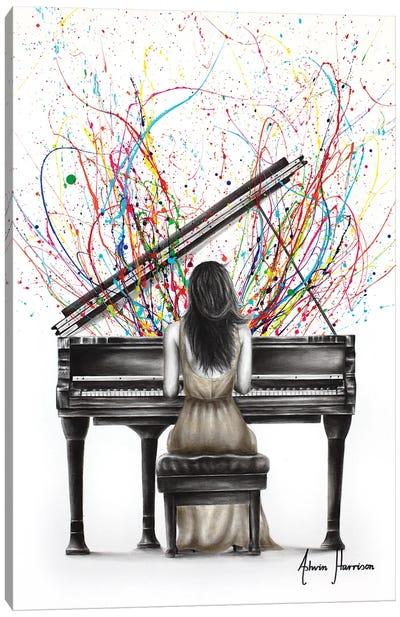 Grand Piano Solo Canvas Art Print