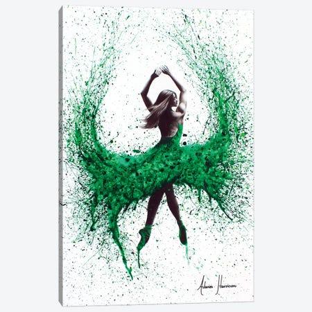 An Emerald Love Canvas Print #VIN7} by Ashvin Harrison Canvas Artwork