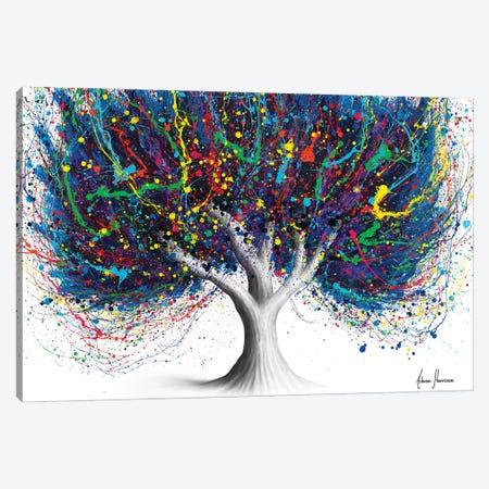 Wild Party Tree Canvas Print #VIN800} by Ashvin Harrison Art Print