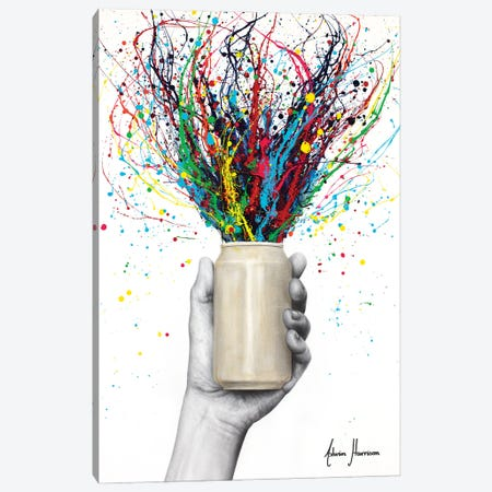 Half Full Canvas Print #VIN802} by Ashvin Harrison Art Print