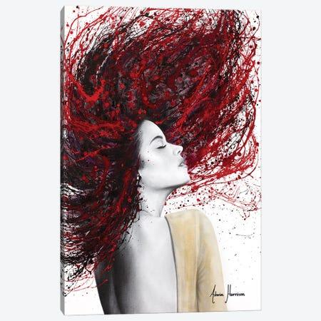 Scarlet Shine Canvas Print #VIN805} by Ashvin Harrison Canvas Art
