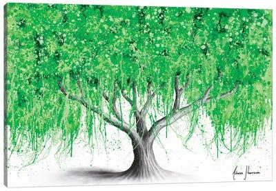 Waterside Willow Tree Canvas Art Print