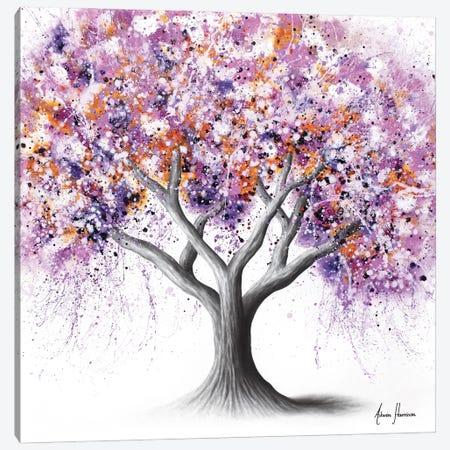 Floral Wisdom Tree Canvas Print #VIN823} by Ashvin Harrison Canvas Art Print