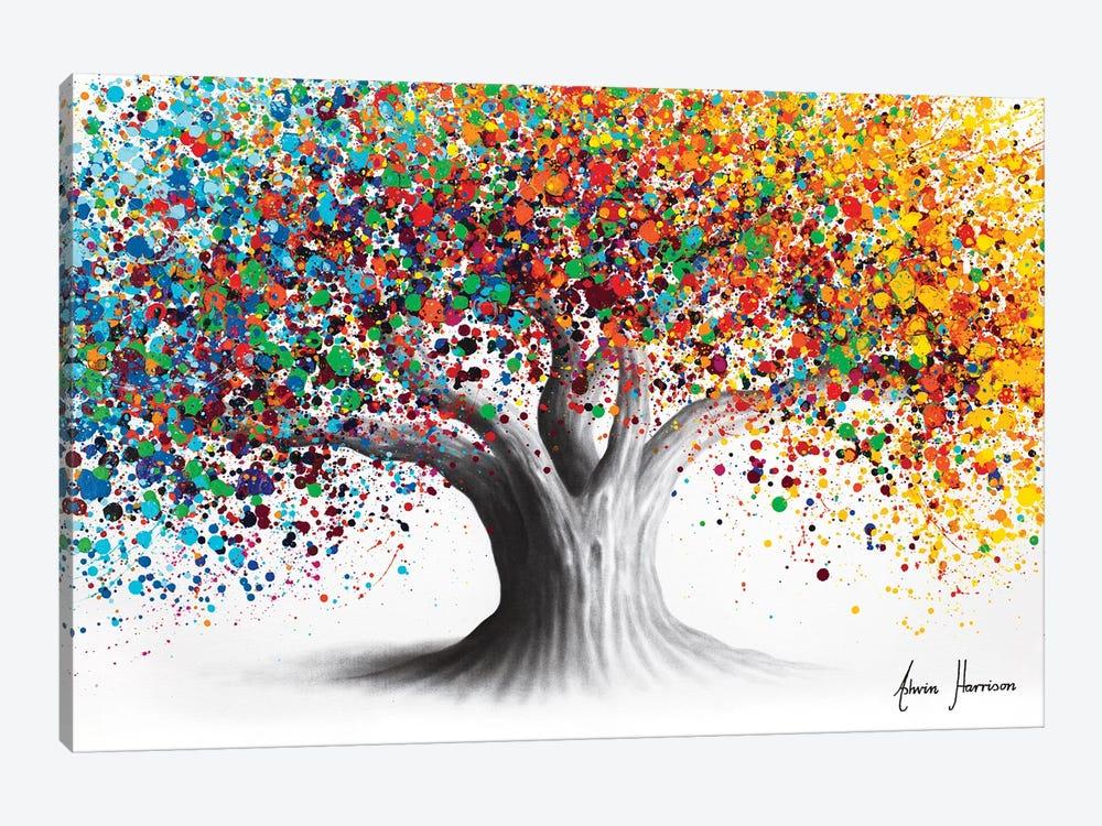 Bright Collective Tree by Ashvin Harrison 1-piece Canvas Art