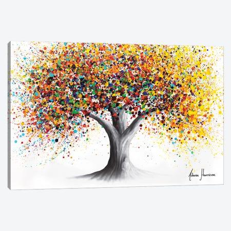 Sunshine Spirit Tree Canvas Print #VIN829} by Ashvin Harrison Art Print