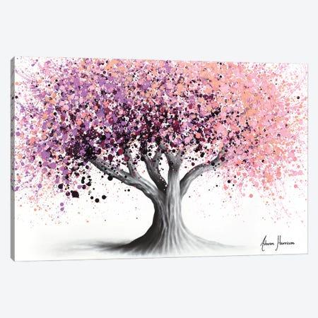 The Night Blossom Canvas Print #VIN830} by Ashvin Harrison Canvas Artwork