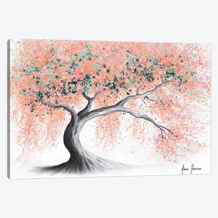 Sunny Peach Tree Canvas Print #VIN832} by Ashvin Harrison Canvas Wall Art