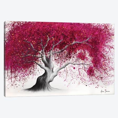 Glowing Magenta Tree Canvas Print #VIN834} by Ashvin Harrison Canvas Print