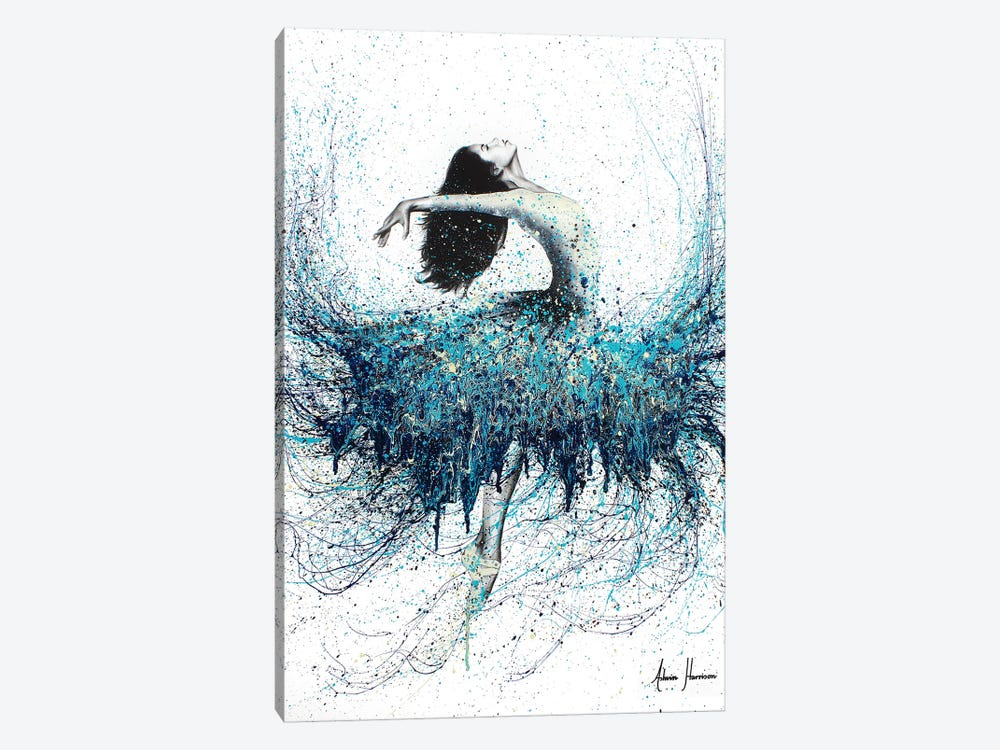Opals And Waves by Ashvin Harrison 1-piece Canvas Art