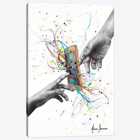 Contemporary Connection Canvas Print #VIN854} by Ashvin Harrison Art Print
