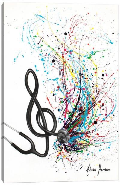 Vital Rhythm Canvas Art Print