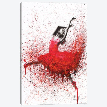 Passionate Love Dance Canvas Print #VIN85} by Ashvin Harrison Canvas Artwork