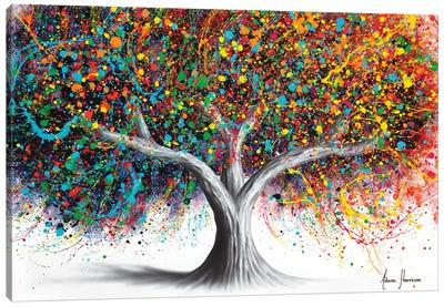 Tree Of Celebration Canvas Art Print